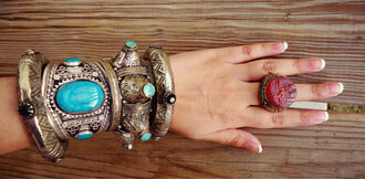 jewels fashion fashion blogger bracelets bohemian gypsy dress stylist hollywood jewelry celebrity style jewelry bracelets