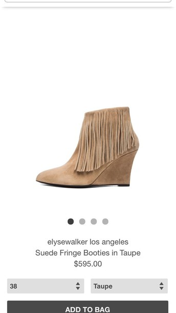 shoes fringe shoes