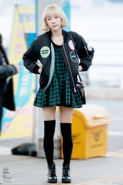 Taeyeon in dress style