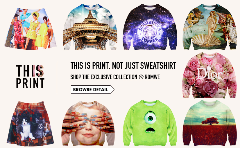 Extremely Attractive-The Latest Street Fashion Online Store   ROMWE