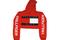 Soto militia — fashion killa x trillfiger crop hoodie (red)