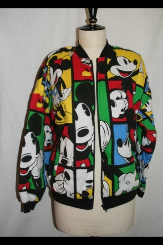 mickey mouse blouse vintage