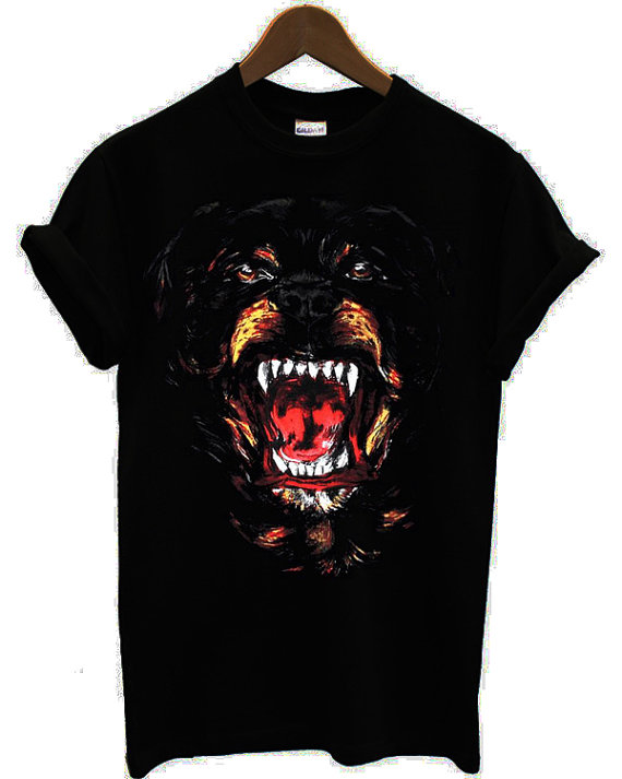 New Givenchy Rottweiler Dog Printed Men Unisex by Antonishop99