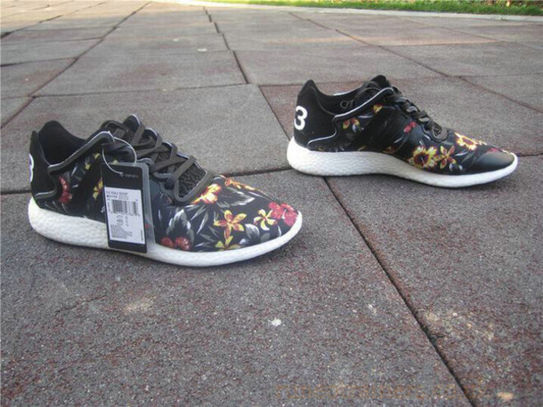 dbcaddbf70dc shoes adidas y3 yohji yamamoto floral black yellow trainers flowers for my  boy menswear