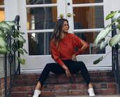 sweater,jojo fletcher,celebrity,instagram,fall outfits,top,blouse
