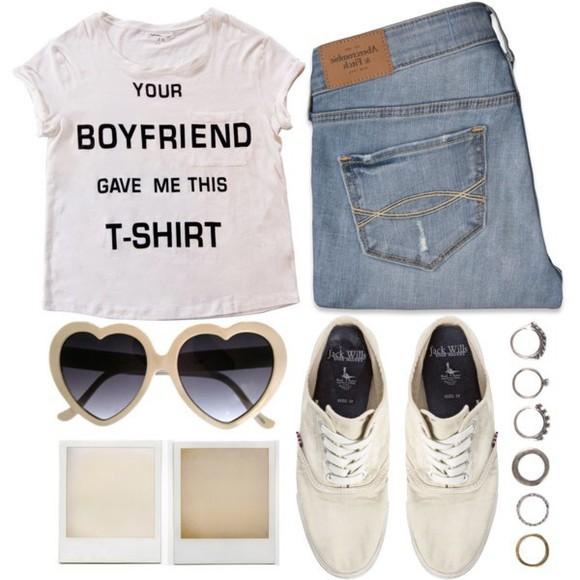 t-shirt white crop tops boyfriend tshirt