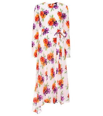 dress midi dress midi floral silk