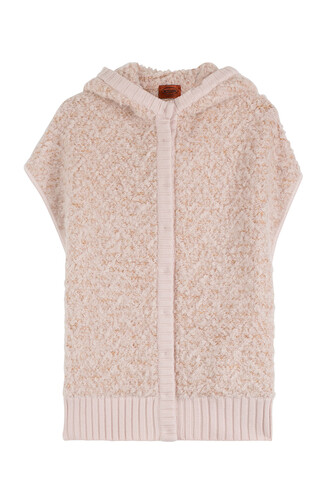 vest oversized wool rose jacket