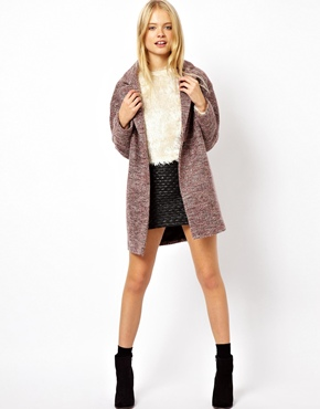 ASOS | ASOS Wrap Cocoon Coat at ASOS