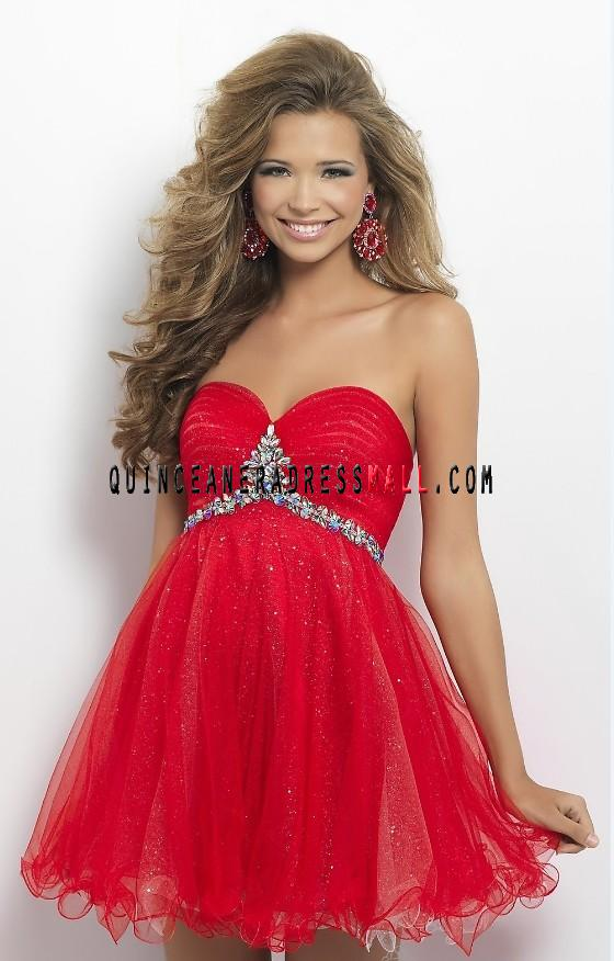 Exquisite beaded red tulle short prom dress 2014 new tulle damas dress_Dama Dresses_Cheap Quinceanera 15 Dresses 2014,15 dresses 2014,Dama Dresses 2014,Little Girl Pageant Dresses 2014,Detachable Quinceanera 15 Dresses 2014,New Style Quinceanera 15 Dresses 2014 on Quinceaneradressmall.com