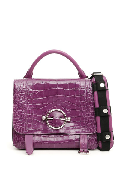 J.W. Anderson Large Disc Satchel in purple