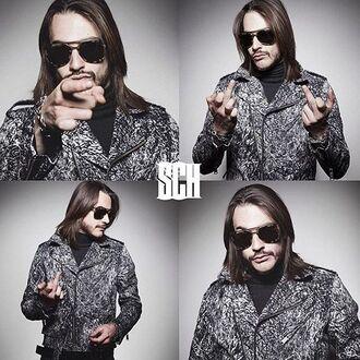 jacket veste sch french rapper