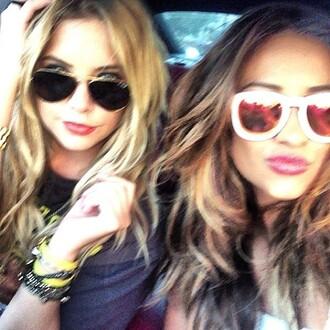 sunglasses pretty little liars shay mitchell summer ashley benson