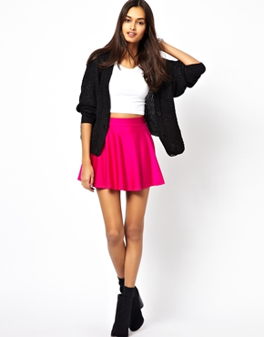 Glamorous | Glamorous Disco Skater Skirt at ASOS