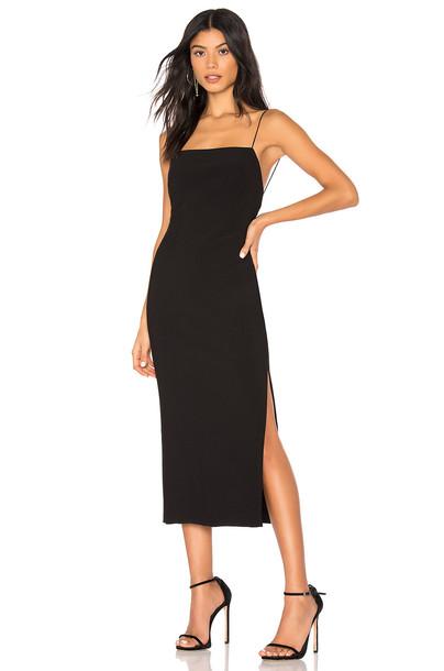BEC&BRIDGE Lila Midi Dress in black
