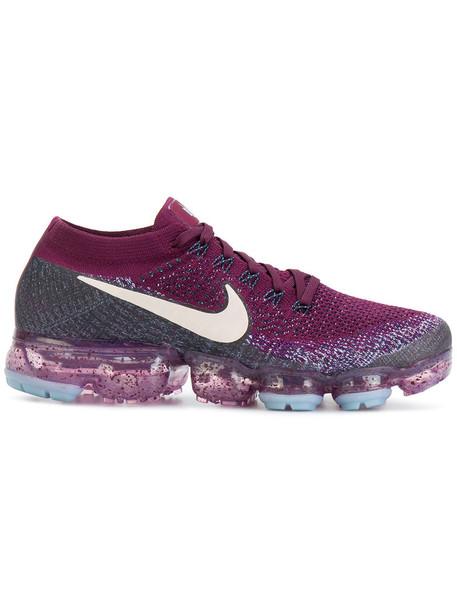 Nike women sneakers purple pink shoes