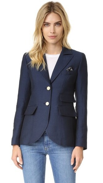 blazer navy black jacket