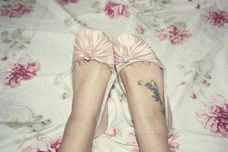 shoes nude diamonds