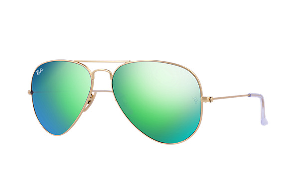 Ray-Ban RB3025 112/19 58-14 Aviator Flash Lenses  Sunglasses | Ray-Ban USA