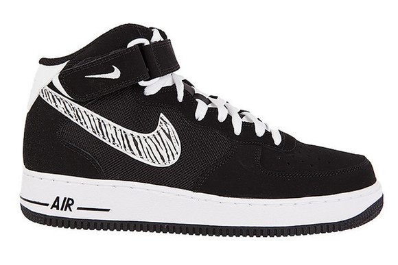 shoes nike zebra print nike air force 1 air force 1
