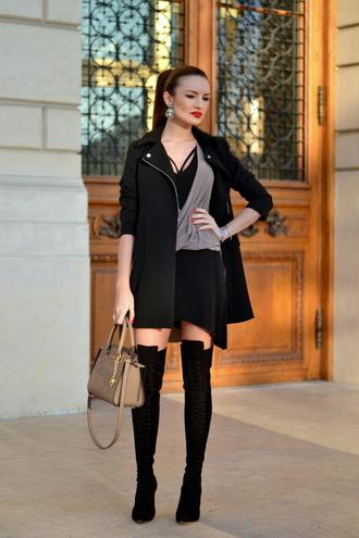 my silk fairytale blogger jacket dress shoes bag jewels