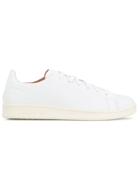 Adidas nude sneakers women sneakers leather nude white shoes