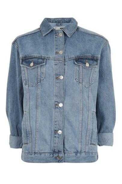Topshop jacket denim jacket oversized denim jacket denim oversized