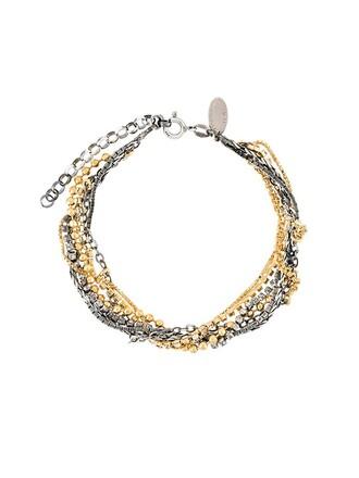 silver metallic jewels