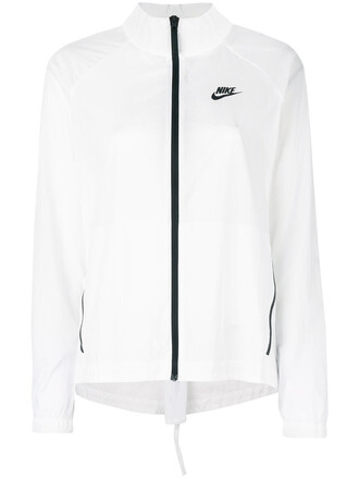 jacket sheer women white