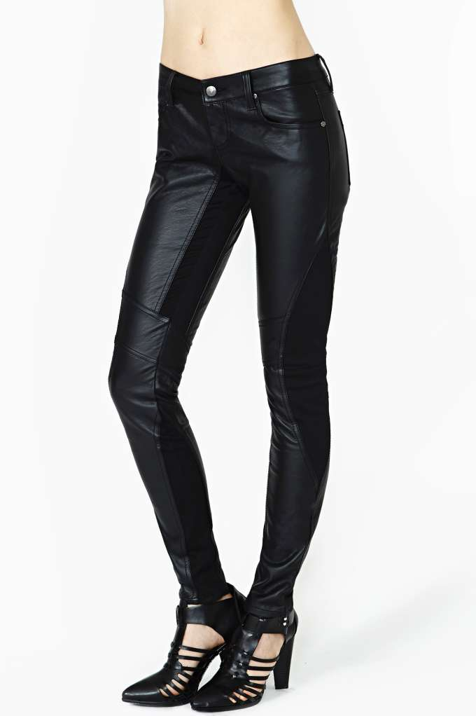 Tripp NYC Motocross Skinny Jeans  in  Clothes Bottoms at Nasty Gal
