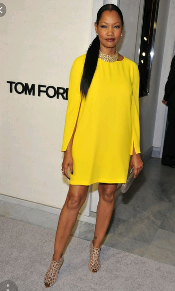 zara dress rare yellow cape sleeves celebrities size xs new