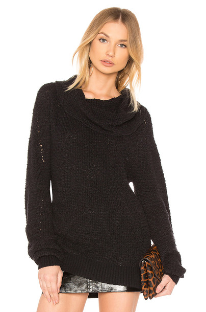 Free People sweater black