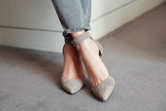 shoes taupe heels ankle strap heels taupe heels ankle strap pointed toe pointed ankle strap heels grey