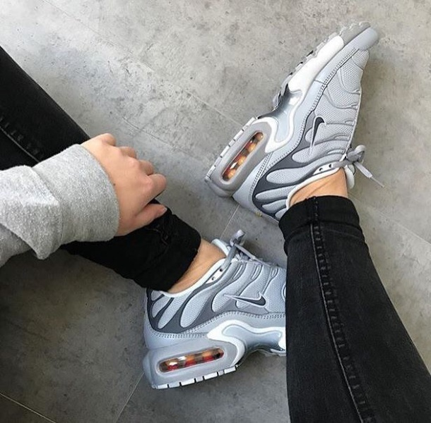 9125d73d93f top quality nike air max plus tn gs tuned wolf grey juniors girls boys women  trainers