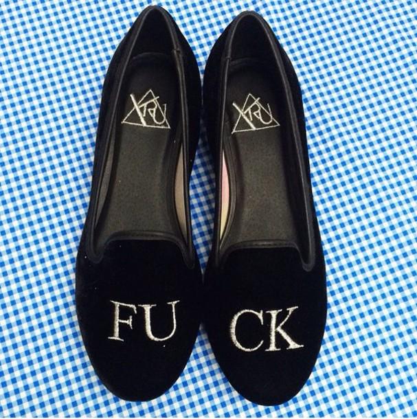shoes flats black black shoes grunge