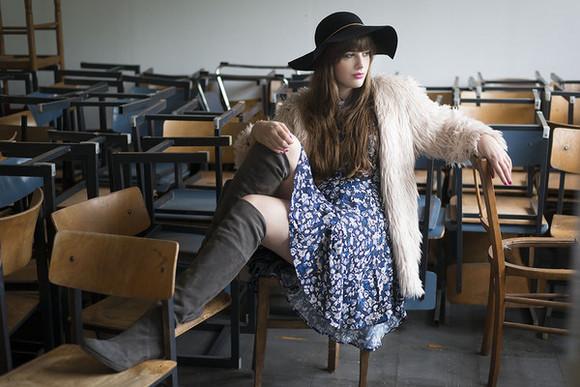 faux fur blogger jacket faux fur jacket jewels andy sparkles boots