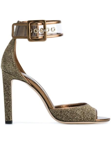 women 100 sandals leather orange grey metallic shoes