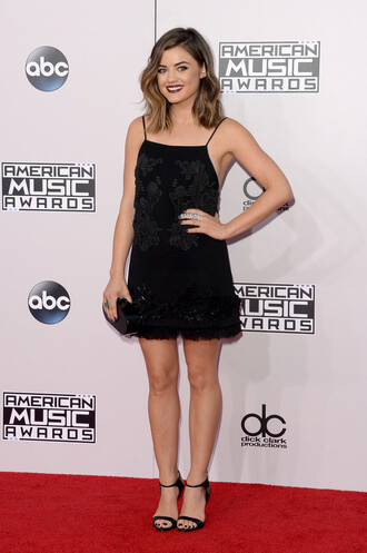 american music awards dress little black dress black party dress lucy hale