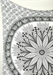 home accessory,mandala tapestries,hippie wall hanging,tapestry,dorm tapestry,medallion wall hanging,magical thinking wall hanging,dorm room,wall decor,wall decal,queen bedcover,bedding,quilt,beach blanket,beach towel,beach throw,living room wall decor,black and white