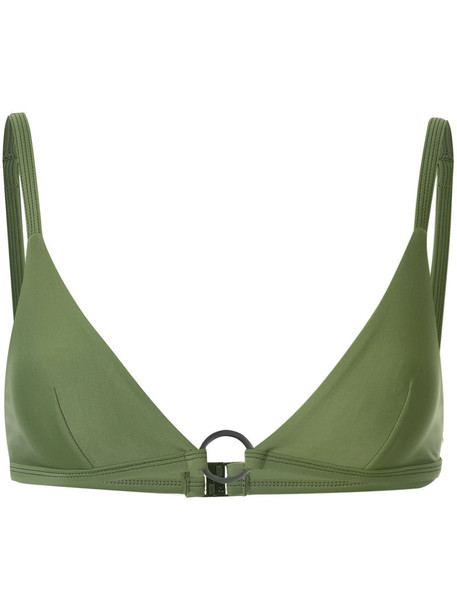 top women spandex green