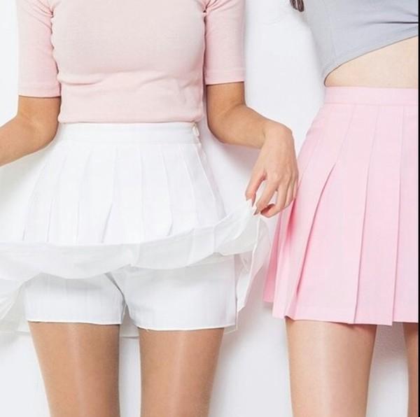 shirt, cute, pink, girly, skirt, style, kawaii, fashion ...