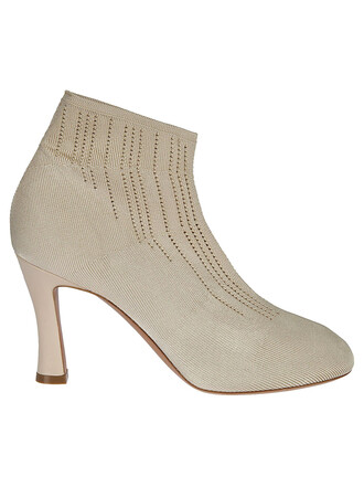 ankle boots gold shoes