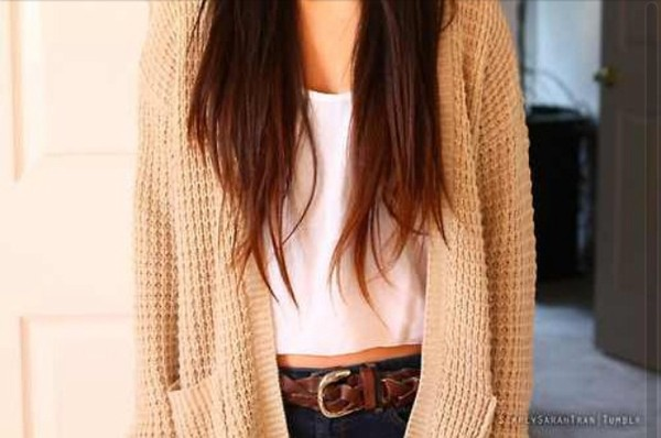 sweater corton knitwear wwhhite crop tops white belt jeans belt jeans boho hipster grunge alternative cardigan