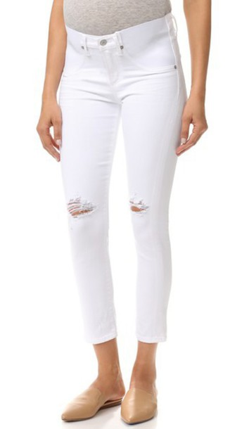 CITIZENS OF HUMANITY jeans white