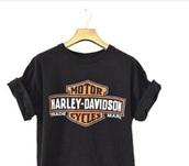 t-shirt,black,harley davidson,motorcycle,womans harley davidson  t shirt pr