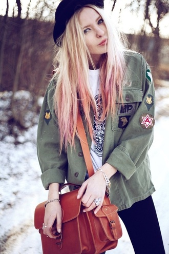 jacket military style fall jacket anilat