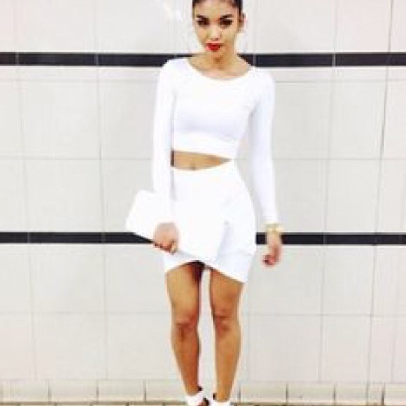 white dress blogger instagram trill