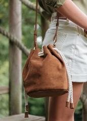 bag,bucket bag,mini bag