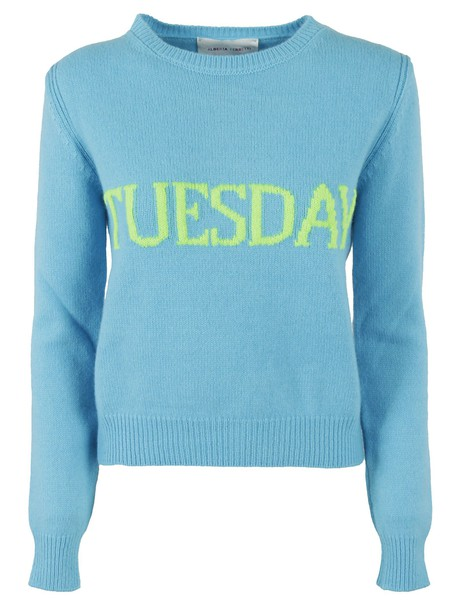 Alberta Ferretti sweater blue