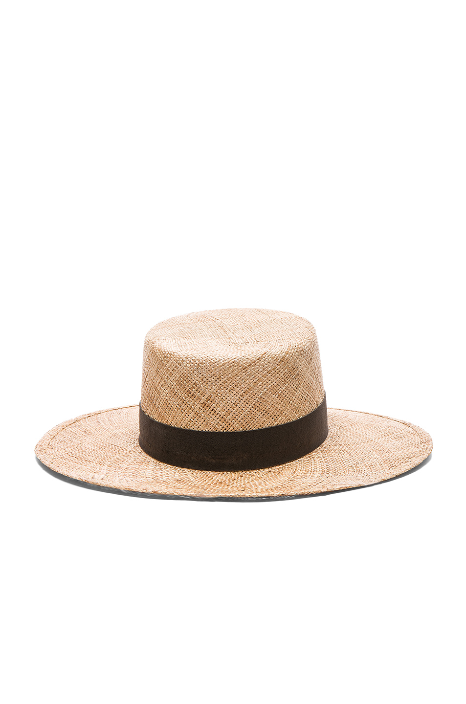 Janessa Leone Jade Bolero Hat in Natural | FWRD